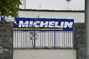 The former Michelin site in Ballymena