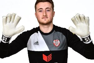 Derry City goalkeeper Nathan Gartside is hoping his old club Watford can cause an FA Cup shock against Manchester City.