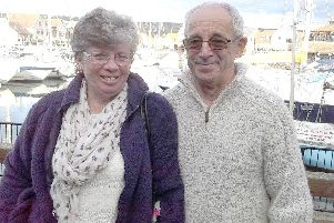 Bob French and his wife Jan