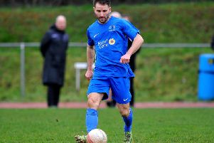 Jamie Taylor scored for the winner for Broadbridge Heath against Hassocks on Tuesday night. Picture by Steve Robards