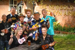 Sarah Miller, owner of Newbold Comyn Arms, has teamed up with local ukulele group, The Spa Strummers, to host a family-friendly festival.