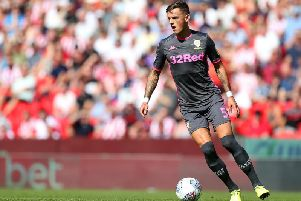 Brighton and Hove Albion defender Ben White is on loan at Leeds United