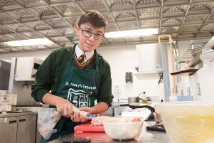 Cassius Clapton In the Futurechef competition at NWRC.