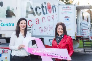 Kerry Beckett, Marketing Manager, its4women.co.uk with Sonya Cassidy  from Limavady