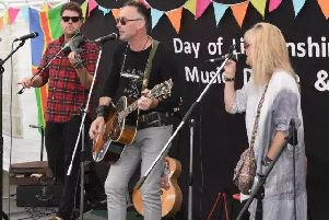 The Band From County Hell performed on the George Hotel Yard Stage at last year's event. EMN-180721-113530001