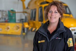 Karen Jobling, chief executive of the Lincs & Notts Air Ambulance EMN-180509-173008001