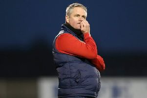 Ards manager Colin Nixon
