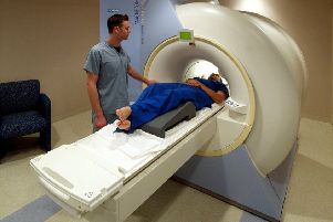 An MRI scanner in action (stock image).