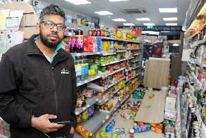 Pictured is: Tharsan Siva, acting manager at Premier Express.'Picture: Sarah Standing (050319-959)