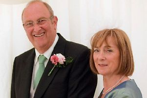 David Sandwith with his wife, June.