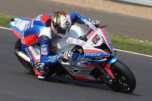 Hickman and his team treated the opening round as a test weekend after the late delivery of the new bike EMN-190422-110138002