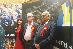 Mahmood Hussain (Lab), David Taylor (Lab) and Sian Timoney (Lab) were elected in Farley ward