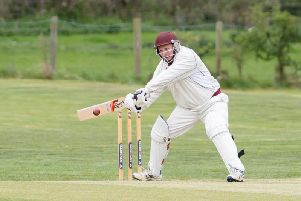 Stewart Burnett top scored with 77 not out