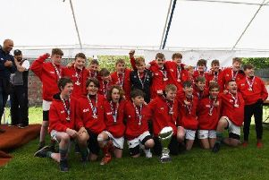 Market Rasen and Louth U13s lifted the Southport Festival trophy after completing a clean sweep of wins EMN-190905-132647002