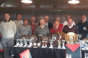 North Somercotes Snooker League prize winners for the 2018/19 season EMN-190516-124440002