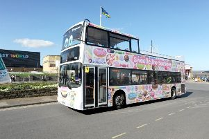 Stagecoach Seasider buses are holding a  family fun day and children's book launch today to celebrate the start of the season ANL-190528-152522001
