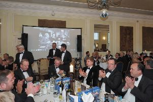Guests at the Hemswell Court black tie dinner EMN-190206-141048001