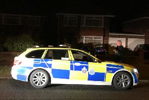 Sussex Police were out in force last night in relation to the incident
