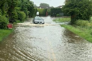 Lincolnshire's roads continue to be affected by the bad weather.