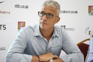 Cobblers boss Keith Curle (Picture: Pete Norton)