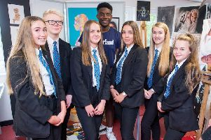 Visit by Year 10 Louth Academy students to the Tollbar MAT Sixth Form.