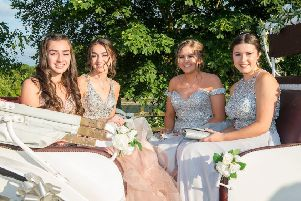 Ellie Odlin, Evie Odlin, Taylor Dawson and Lauren Reed. (Picture: Sean Spencer/Hull News & Pictures Ltd)