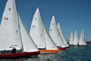 The skies were blue for Itchenor's regatta / Picture by Chris Hatton