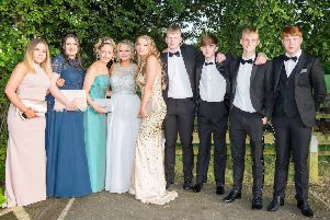 Somercotes Academy Year 11 prom at the Brackenborough Hotel. (Picture: Sean Spencer/Hull News & Pictures Ltd)