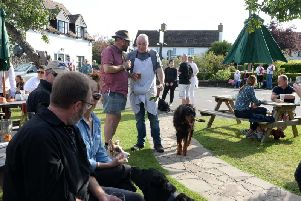 The Dinton Beer Festival 2019 at the Seven Stars pub