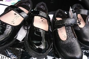 Shoes paid for by Wave 105's Cash for Kids charity