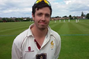 Louth captain Laurence Scott made 66 off 109 balls at Bourne EMN-190826-123747002