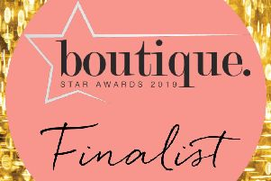 Tilletts has been named as a finalist in the Boutique Star Awards 2019.