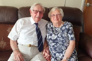 Frank and Pat Johnson will celebrate their 70th wedding anniversary on Tuesday September 2