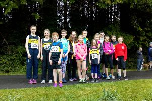 There was a great turnout from Dromore AC Junior section