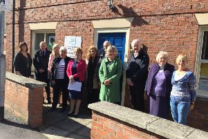 Louth United Charities trustees visited Bradbury House in Ramsgate, Louth.