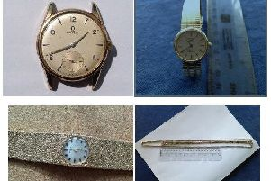 A selection of the items stolen from the antiques centre.