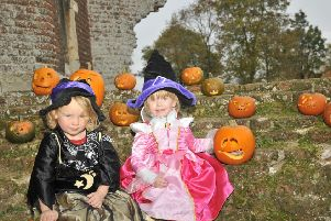 Halloween half term fun at Tattershall Castle EMN-191110-152235001