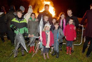 Louth charity bonfire and fireworks night (November 2)