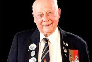 Jack Quinn received the Freedom of the Parish of Mablethorpe and Sutton.