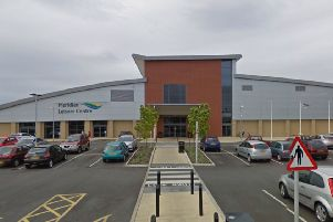 The Meridian Leisure Centre in Louth.