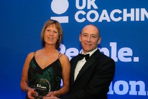Sue Ringrose was among the winners at this year's UK Coaching Awards EMN-190912-112519002
