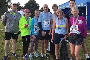The Mablethorpe RC contingent at the New Year's Day 10k EMN-200601-104612002