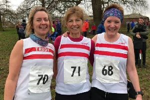 The Louth trio of Trudy Roberts, Ruth Edison and Shirley Willett became county veteran ladies champions EMN-200901-112222002