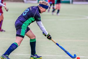 Cath Hill was Louth Ladies 2s' player-of-the-match at Horncastle. Picture: David Dales EMN-200120-150321002