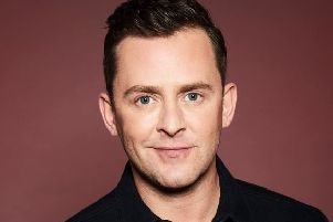 Radio 1 DJ Scott Mills