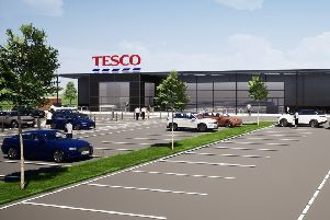 The current proposals by Tesco (which have not yet been submitted to the local planning authority).