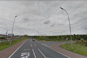 Newry Road Makethill leading to Tandragee Road Photo by Google Maps