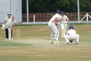michael hoey bowling for Armagh'' against Waringstown