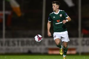 Midfielder Ben Doherty has joined Glenavon on loan.