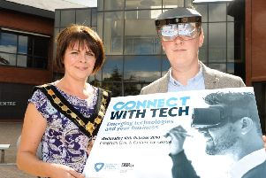 Launch of Connect with Tech at the Civic Centre Craigavon   'CREDIT: www.LiamMcArdle.com